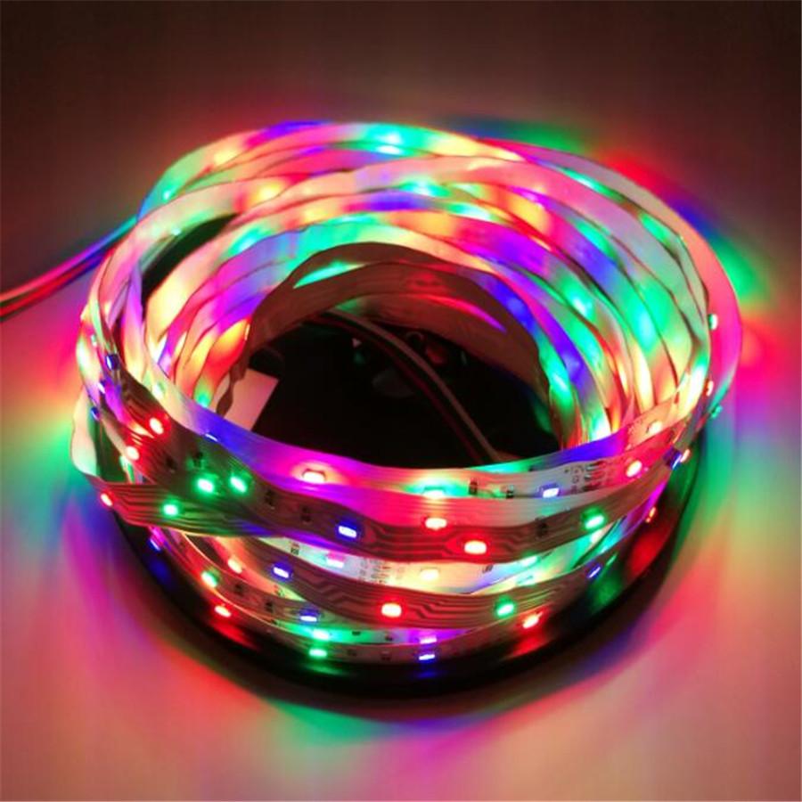 5M LED strip 54LED/M DC12V 3014 RGB LED strip light non waterpro Flexible LED Light Strip RGB ruban luces led tiras(China (Mainland))