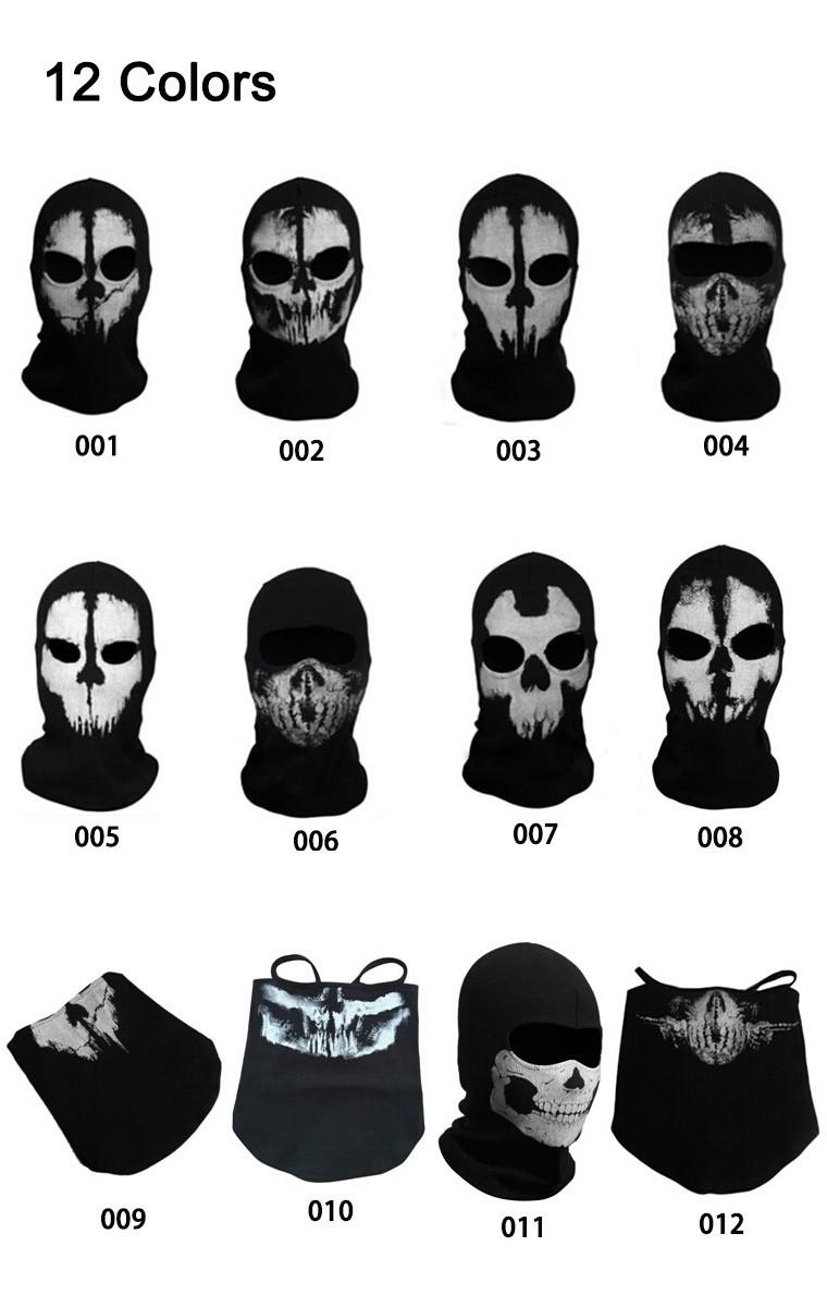 Coon Black Ghost Mask Skull Bike Cycling Motorcycle Ski Fishing Balaclava Cap 1