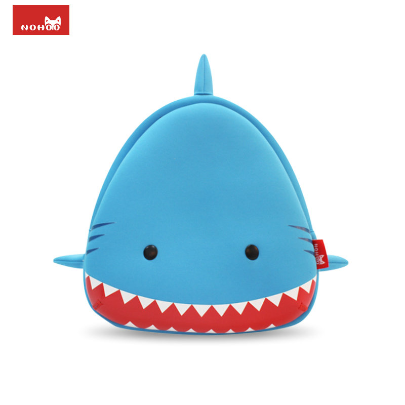 NOHOO US Stock Animals Kids Baby Bags 3D Shark Waterproof Children School Bags For Girls Boys 3D Cartoon Backpack For Kids(China (Mainland))