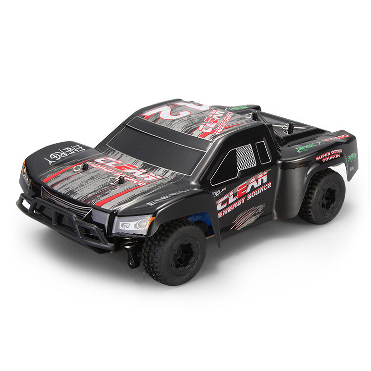 WLtoys A232 1/24 2.4G Electric Brushed 4WD RTR RC Car Short Truck(China (Mainland))
