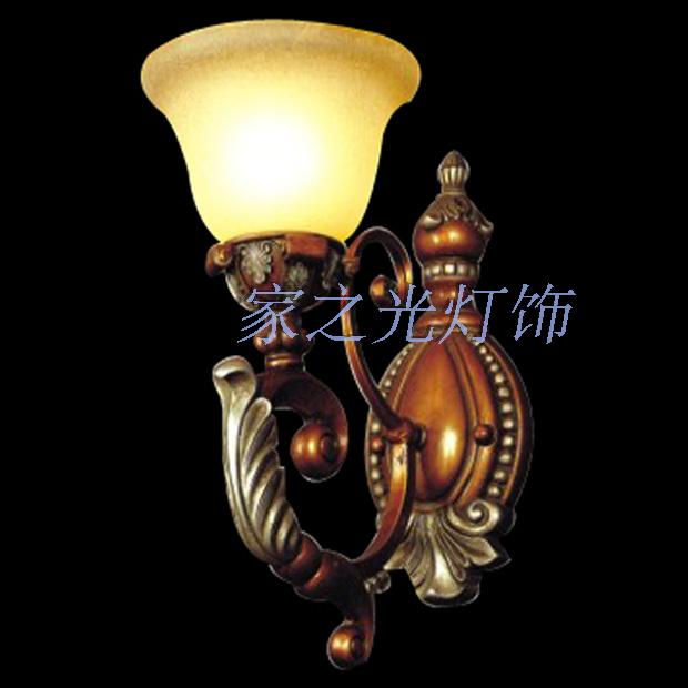 Fashion vintage antique quality resin wall lamp living room lights aisle wall lamp mirror light bed-lighting wall lights