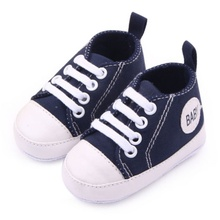 Infant 0-12M Newborn Toddler Canvas Sneakers Baby Boy Girl Soft Sole Crib Shoes First Walkers 12 Colors(China (Mainland))