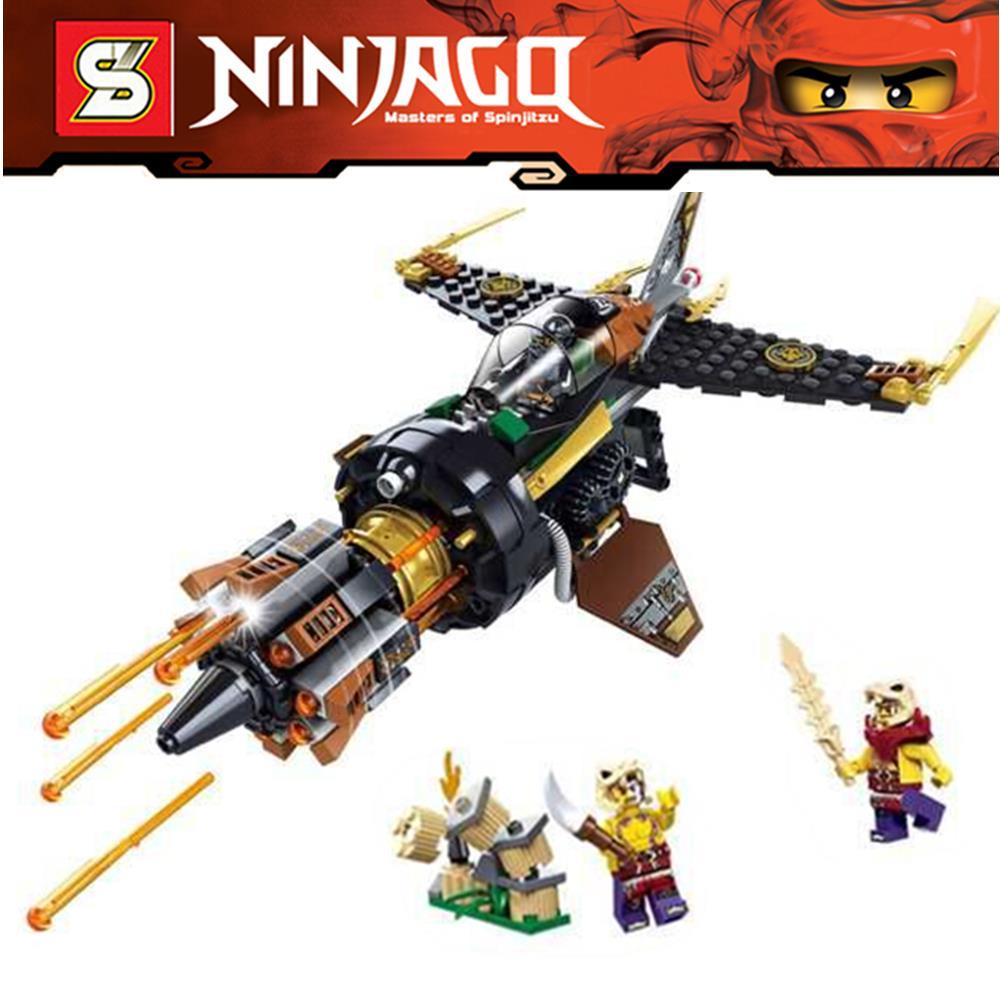 26Ninjago Set Boulder Blaster Cole Zugu Sleven Ninja Building Bricks Blocks Minifigures Toys Compatible Lego 70747  -  Top Toy Seller store