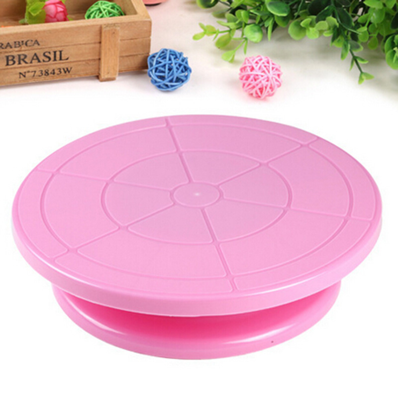 Cake Decorating Tools Rotating Cake Stand Sugarcraft Turntable Decorating Stand Platform Cupcake Stand Cake Plate Tools(China (Mainland))