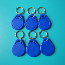 100pcs/lot RFID Key Fobs 13.56MHz Proximity ABS IC Tags NFC 1k Tag Access Controller(China (Mainland))