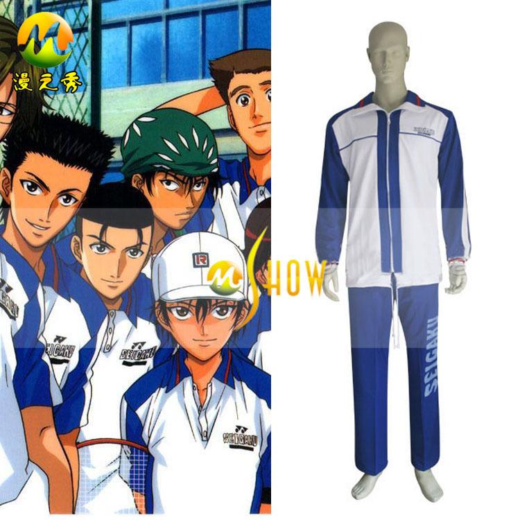 Prince Of Tennis Seigaku Syusuke Fuji Jersey Kikumaru Set