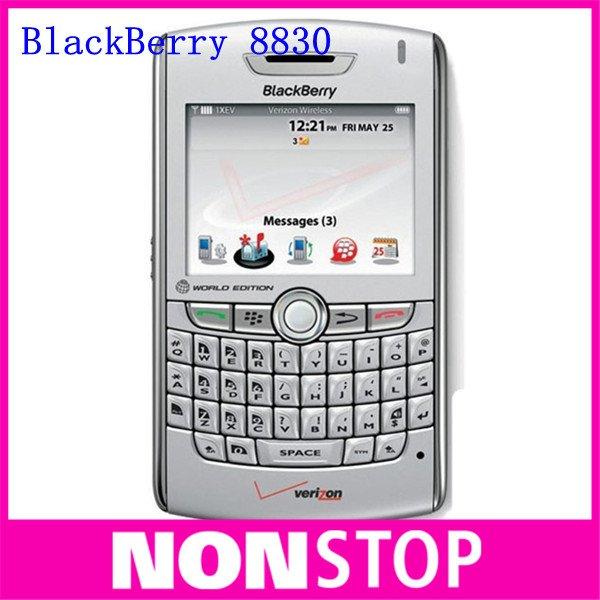 Unlocked Original BlackBerry 8830 Cell Phone World Edition CDMA PDA GPS Mobile FREE SHIPPING!(China (Mainland))