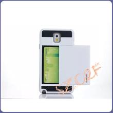 Note 3 Luxury Slider Slide Card Cover Armor Slim Hybrid Mobile Phone Bag Case For Samsung Galaxy NoteIII Note3 Note III N9006