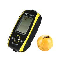 New Hot Sell Wireless Sonar Fish Finder Built in Lithium Battery Waterproof Echo Sounder Portable Fish