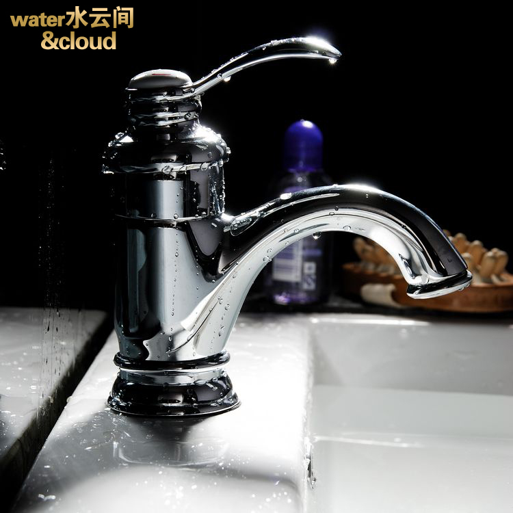All copper single-hole hot and cold Taocifaxin the bathroom basin washbasin hot and cold taps