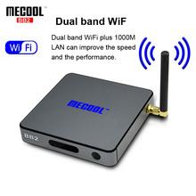 MECOOL BB2 Android TV Box Amlogic S912 64 bit Octa Core 4K x 2K 2G/16G 2.4G/5G WiFi Bluetooth+ Remote Control Set-top Boxes