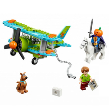 Bela Scooby Doo Mystery Plane Adventure Minifigures Building blocks Compatible With Lego Toy Kid Gift Birthday(China (Mainland))