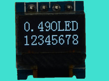 10pcs/lot 0.49 inch White OLED module SSD1306 Drive IC 64*32 QT1306P24 Cable IIC Interface 64x32 oled display module(China (Mainland))