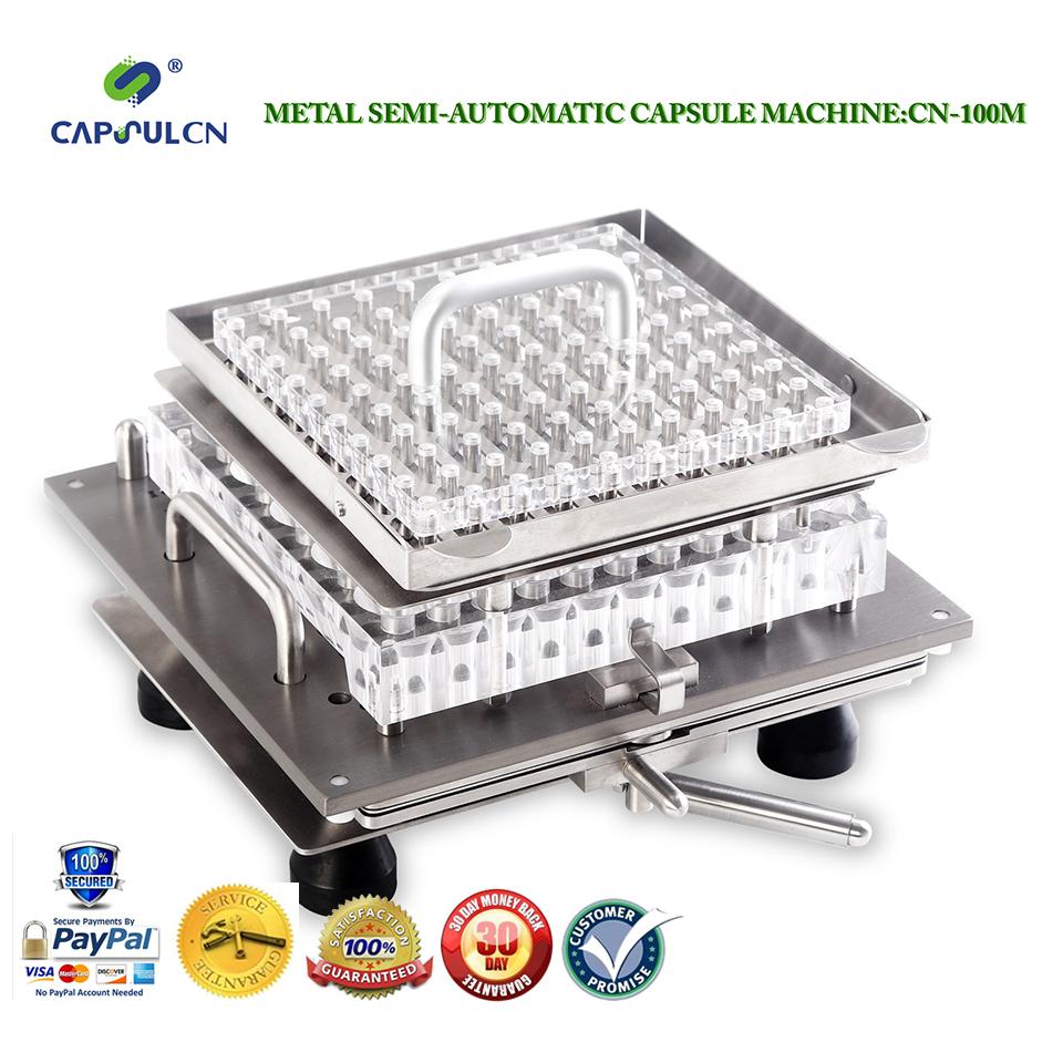CapsulCN100M Size 00 Semi-Automatic capsule filler/Capsule Filling Machine/Fillable Capsules Machine(Hong Kong)