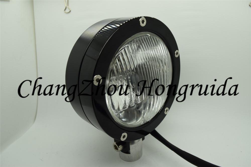 "HEAD LIGHT bullet 4-1/2"" Black Vintage Antique Style Chopper Motorcycle Bobber Head light(China (Mainland))"