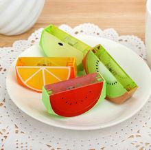 3pieces / lot New cute fruit sharpe pencil Sharpener / school supplies No.0143(China (Mainland))