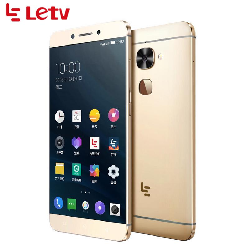 "Original Letv LeEco Le S3 X626 Cell Phone 5.5"" 4GB RAM 32GB ROM Helio X20 Deca Core 21.0MP Android 6.0 Fingerprint Smartphone"