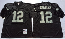 Stitiched,Oakland Raiders T.Brown stabler Jim Plunkett Throwback for men(China (Mainland))