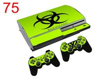1 Pcs Cool Sticker For Sony Playstation 3 Fat Skins For PS3 Console And 2 Controller Cover