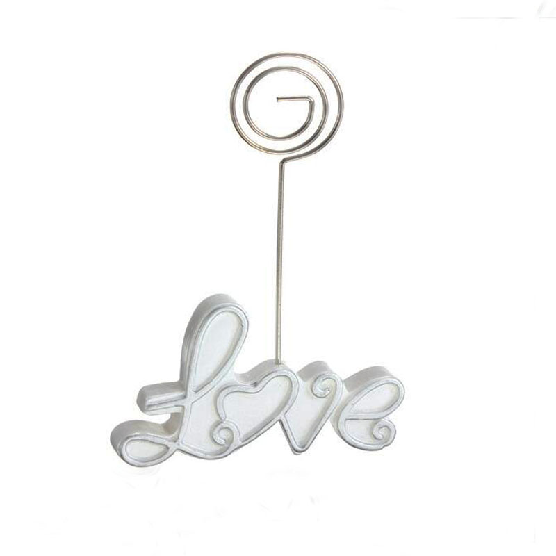 Hot 1 Pc Resin Exquisite LOVE Wedding Guest Table Number Cards Clip Festive Party Seating Place Product Tools Accessories 2016(China (Mainland))