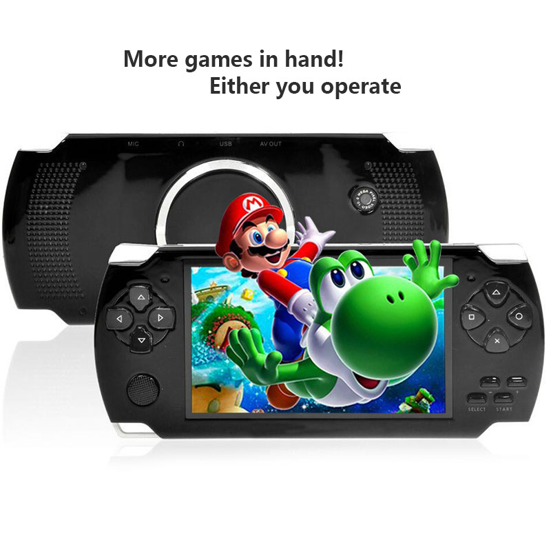 New MP3 MP4 MP5 Portable Multimedia Player Digital Video Camera 8GB PMP Handheld Game Player with Camera Recorder Video Games(China (Mainland))