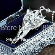 Free Shipping - 925 sterling silver The Arwen Evenstar Pendant Necklace Gift metal case packed(China (Mainland))