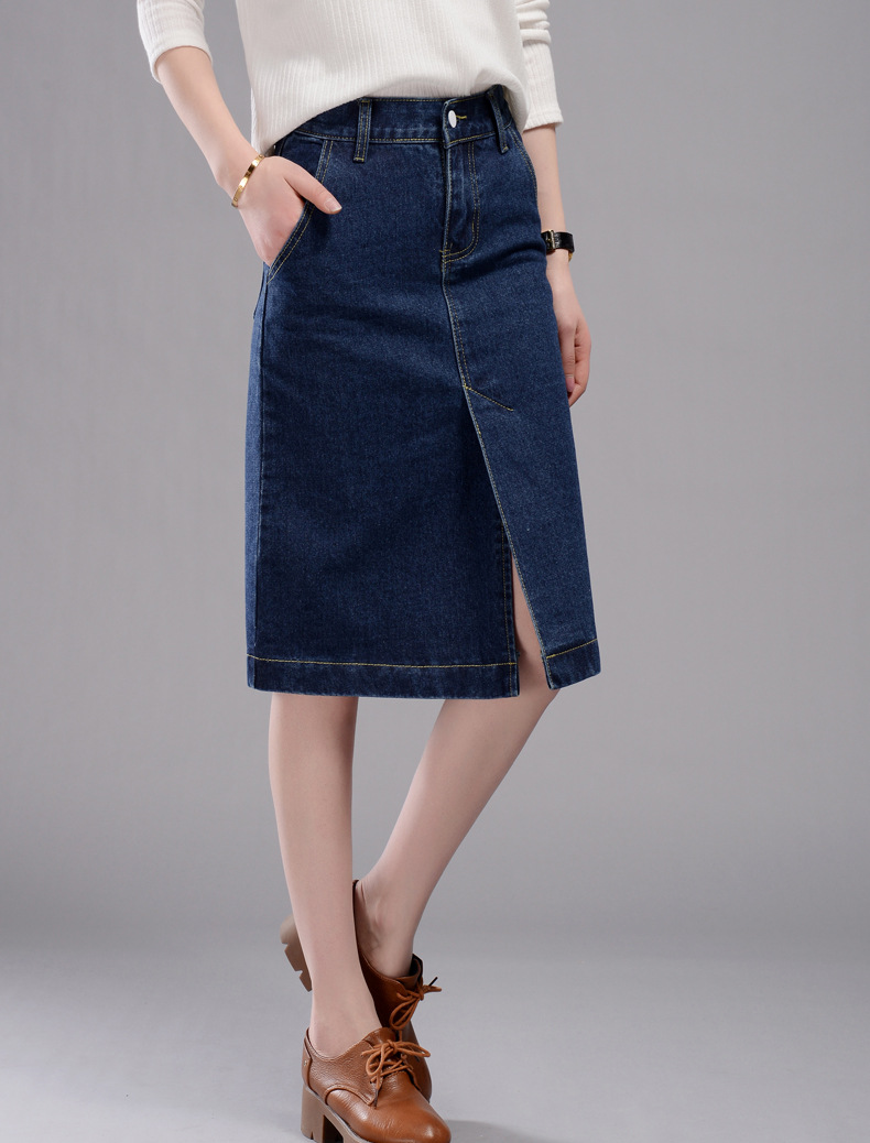 Popular Pencil Jean Skirts-Buy Cheap Pencil Jean Skirts lots from ...