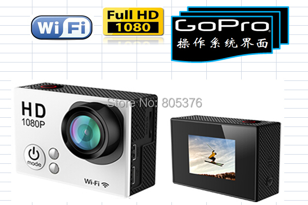 GoTop G1 Sport Camera 1080P Full HD Action 16MP Mini DV Motion Detection + Waterproof Case - tmpking technology company store