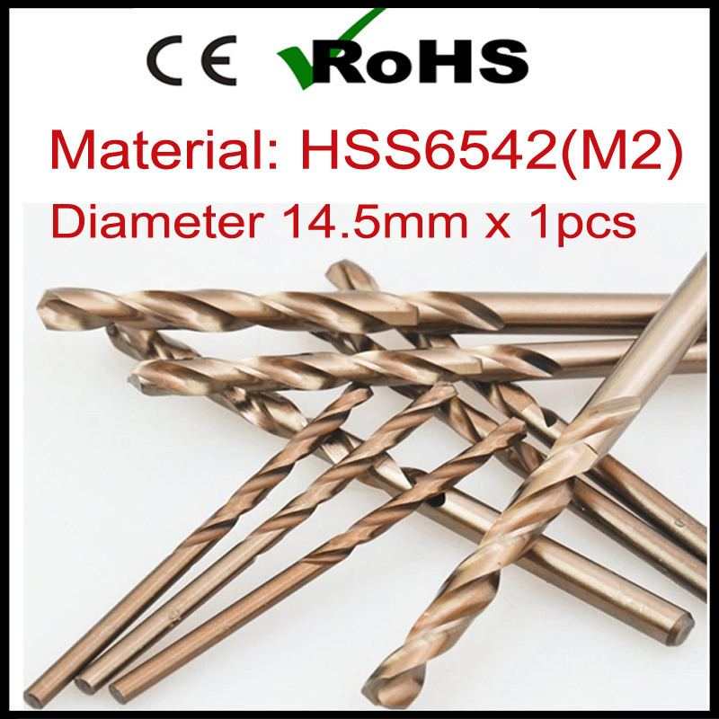 product 14.5mm x 1pcs HSS Drill Bits for Metalworking Stainless Steel Hole Saw Cutter Power Tools ferramentas herramientas furadeira