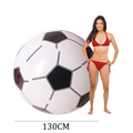 Children Sports Toys Inflatable Oversized Soccer Ball Inflated Water Balls for Pool Float Kids Game Props