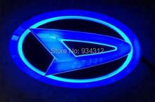 Daihatsu New Car Accessory Daihatsu 4D Car Logo Lamp Auto Led Emblem Lamp Rear Logo Badge Light EL Emblem Decorative Sticker(China (Mainland))