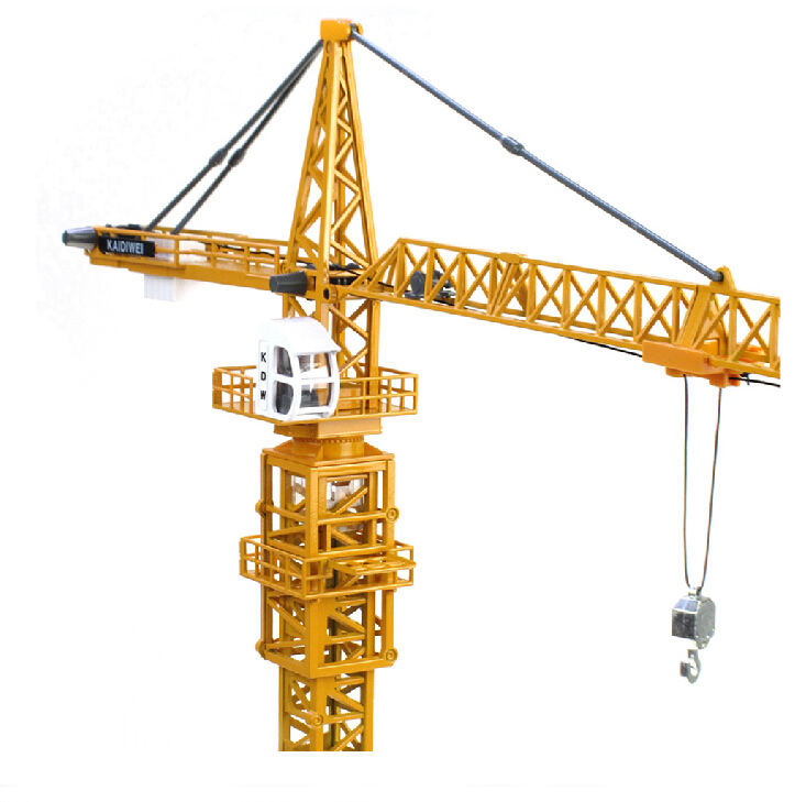 Tower Crane Engine : Alloy diecast tower crane truck model elevator