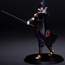 Free Shipping Naruto Shippuden Uchiha Sasuke PVC Action Figure Collectible Model Toy 7″ 18cm