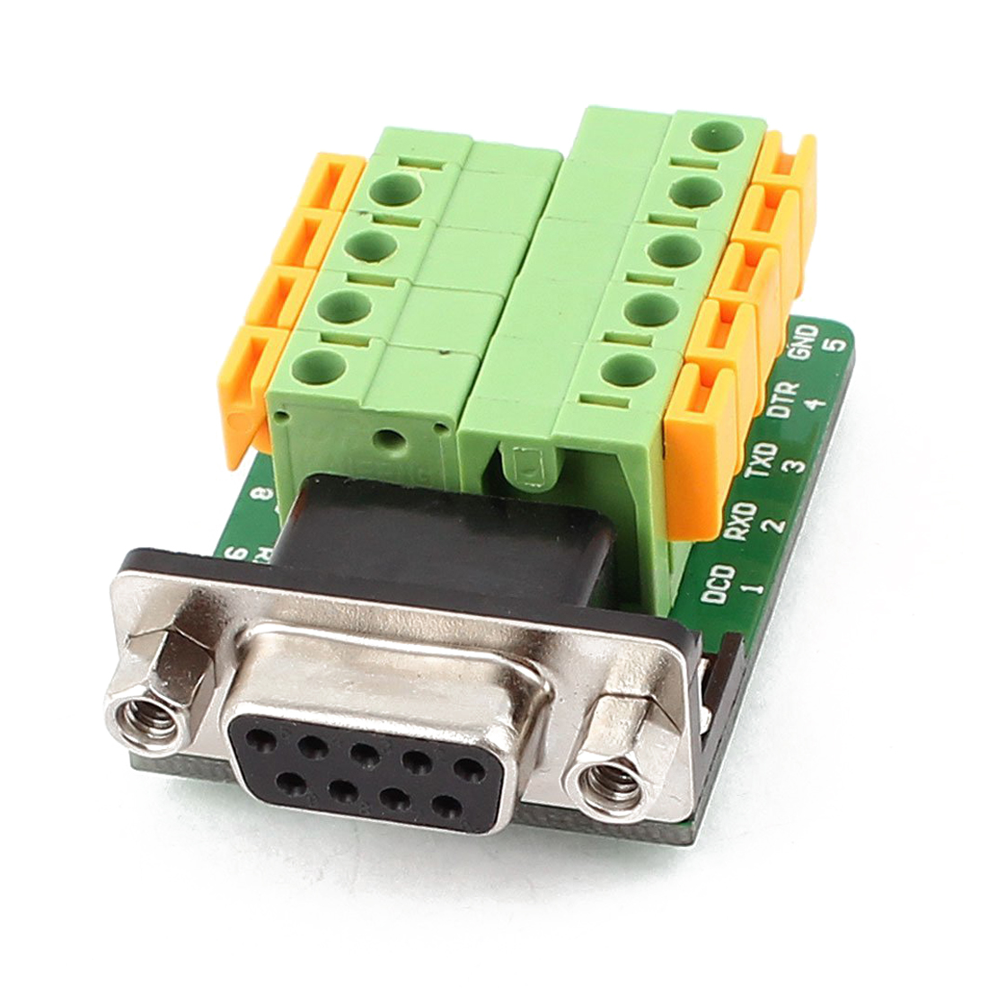 uxcell 20 Pcs DB9 RS232 Serial 9 Pin Male Connector Adapter