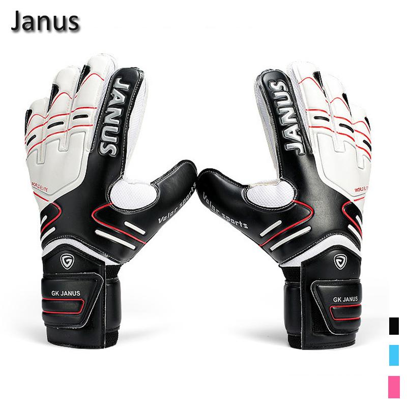 New Latex Professional Men's Soccer Goal Keeper Gloves Finger Protection Football Bola De Guantes Futbol Luvas De Guarda Redes(China (Mainland))