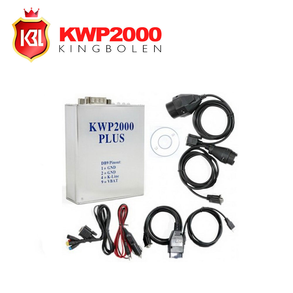 2016 Hot Sale KWP2000 Plus ECU REMAP Flasher KWP 2000 OBD OBD2 Chip Tunning ECU(China (Mainland))