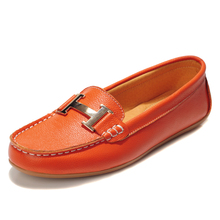 Acheter Chaussures Moccasins Women's Shoes Fashion Female Genuine Leather Shoes Loafers Women Gommino Mocassins