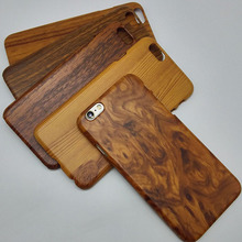 original luxury hard case for apple iphone6 iphone 6s 6 s 4.7 by pc brand phone wood grain protective fashion back wooden cover