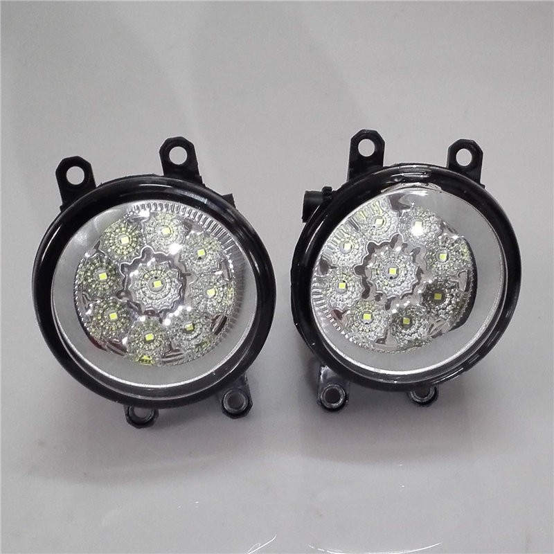 For TOYOTA Avensis hatchback T25 2003-2008 Car styling CCC E2 4300-1WK LED Fog Lamps DRL Lights 1set(China (Mainland))