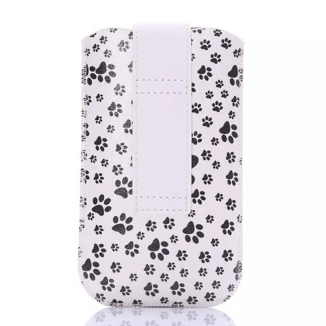 1Pcs Free Shipping Drawing Design High Quality Optional Pouch Cover Portable Bag Skin Pull Leather Case For Kingsing S1(China (Mainland))
