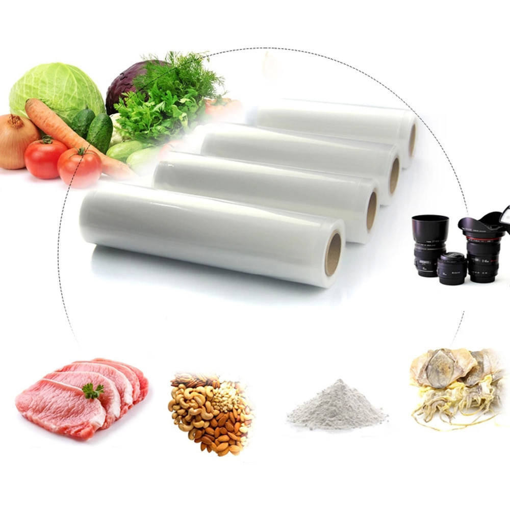 Vacuum Food Bag Roll for Kitchen