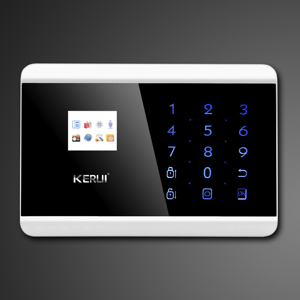 Kerui Touch Screen Keypad Lcd Tft Display Wireless Gsm