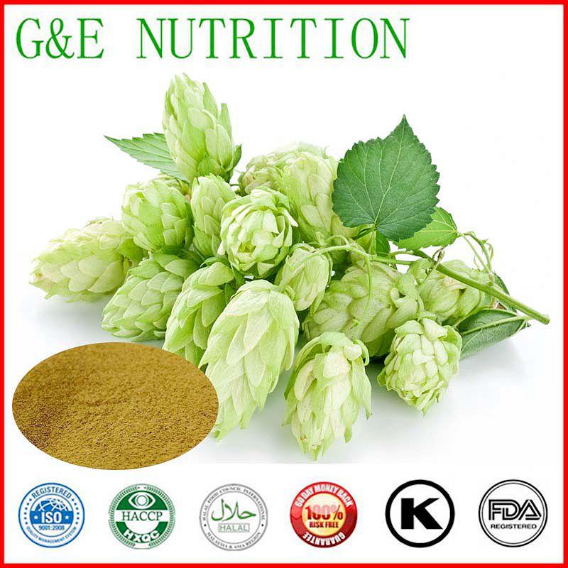 Factory supply 100% Natural Humulus Lupulus Hops Extract xanthohumol 1000g
