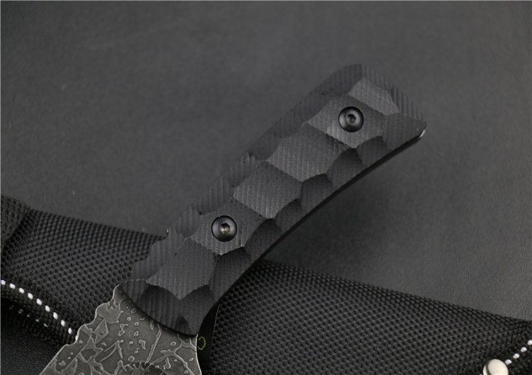 Buy New Fixed Blade Knife Camping Survival Knives Hunting Tactical Knifes With Nylon Sheath Outdoor Tools Free Shipping KN100 cheap