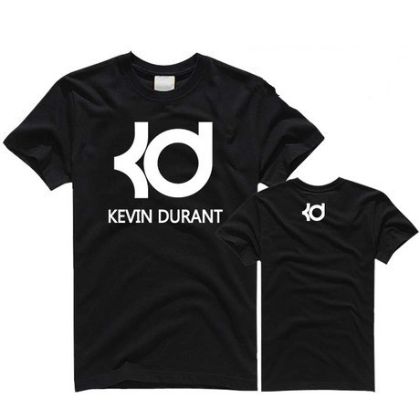 2015 summer famous brand basketball t shirt kevin durant