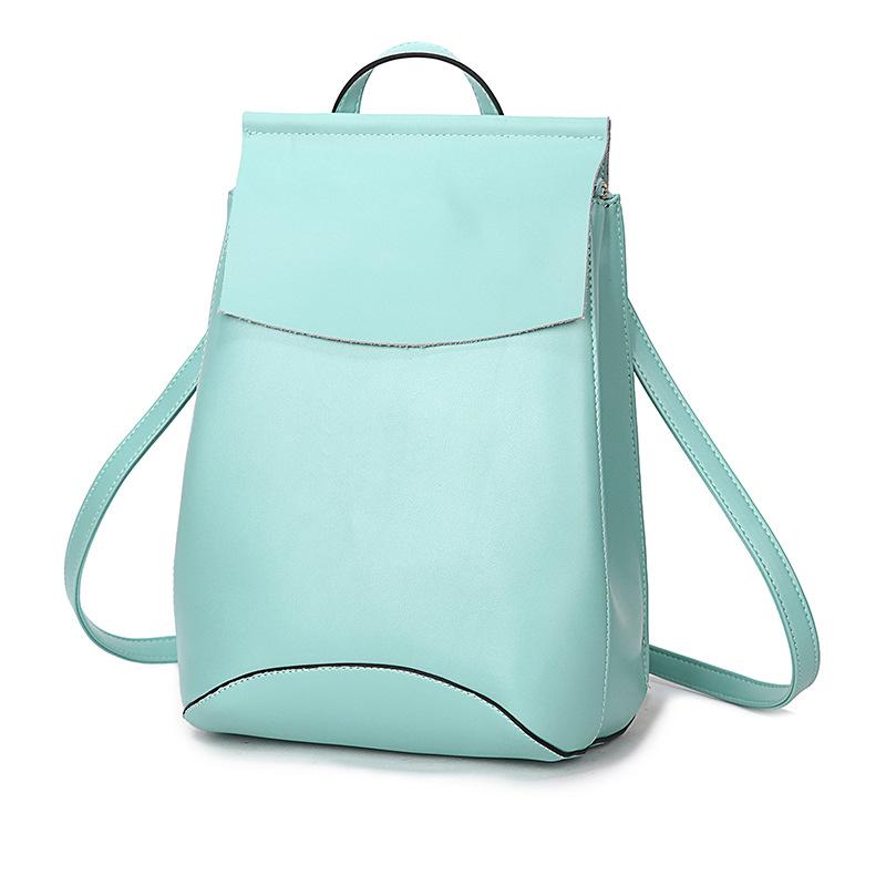 015 Famous Brand Mansur Gavriel , leather backpack,lady genuine leather backpack, leather schoolbag Travel Bag Women Backpack