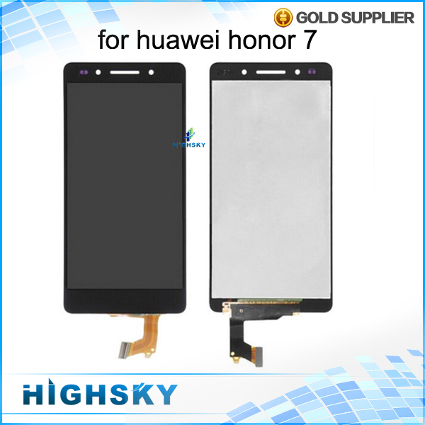 1 piece free shipping for Huawei Honor 7 lcd display screen with touch digitizer black /white/gold 5.2 inch new test