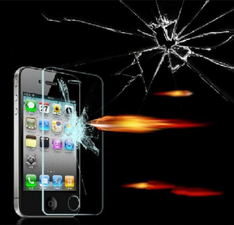 HD Tempered Glass Screen Protector For Alppe iPhone 5 5s 5c High Quality 0 3mm Ultra