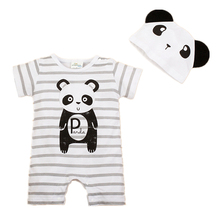 Newborn Baby Rompers Summer Style Baby Girls Clothes 2pcs Animal Carters Infant Jumpsuits Ropa Bebes Baby Boy Brand Clothing Set(China (Mainland))