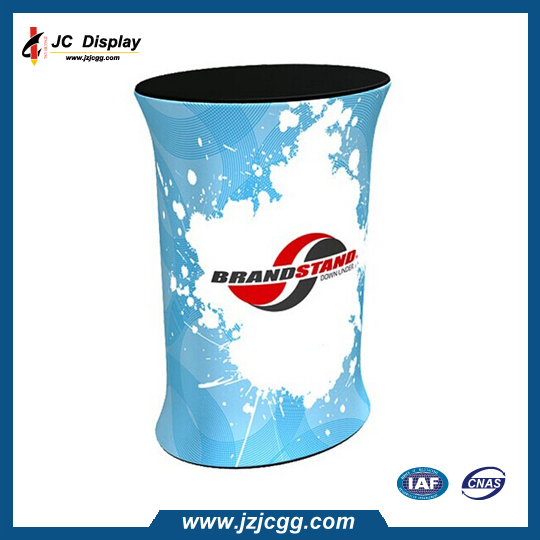 Best Selling Promotion Tension Fabric Display Aluminium Counter for Advertising(China (Mainland))
